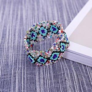 90s beaded bracelet